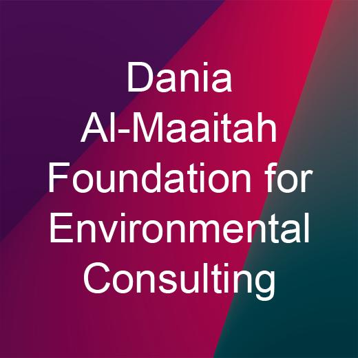 Dania Al-Maaitah Foundation for Environmental Consulting