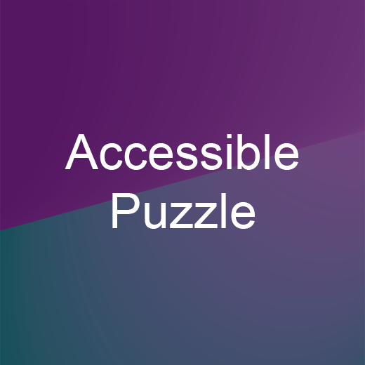Accessible Puzzle