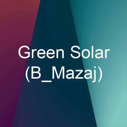 Green Solar (B_Mazaj)